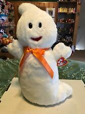 Ty Spooky White Halloween Beanie Buddy Ghost! *Retired*