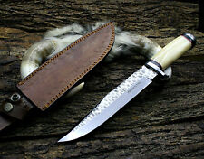 14 INCHES D2 Steel Hand forged Custom Made hunting knife