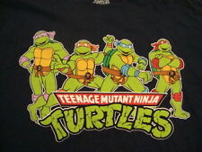 Teenage Mutant Ninja Turtles Navy Blue Cartoon T Shirt 2XL