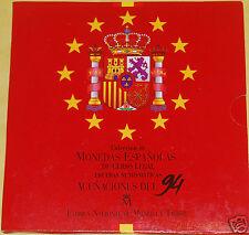 manueduc  ESPAÑA CARTERA OFICIAL FNMT 1994  PESETAS    NUEVA