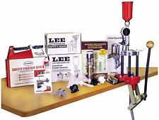 Lee Precision Classic 4 Hole Turret Press Deluxe Kit Reloading Starter Kit 90304