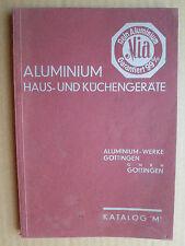 """GÖTTINGEN, Rhein  Aluminium Mia, Aluminium Haus- und Küchengeräte, Katalog """"M"""""""