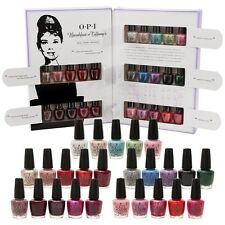New! OPI BREAKFAST AT TIFFANY'S Mini Mani Month 25-pc Nail Polish Gift Set HRH27