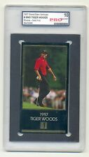 1997 Grand Slam Ventures Tiger Woods GOLD FOIL rookie Graded by PRO 10.0