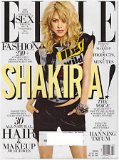 ELLE Magazine July 2013 RARE Shakira Cover, Channing Tatum, The Voice, Sex, Hair
