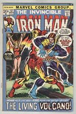 Invincible Iron Man #52 November 1972 VG
