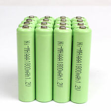 4 X Battery AAA  1.2 V 1800mAh Ni-MH Rechargeable Battery for Toy MP3 RC - Green