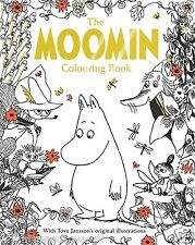 MOOMIN Tove Jansson Adult Colouring Book Creative Gift Moomins Collectable Art