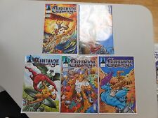CHARLEMAGNE #'s 1-5 MINT Defiant Comics 1994 VF/NM9.0+ CGC worthy beauties!