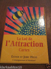 la loi de l'attraction , cartes / Esther et Jerry Hicks