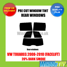 VW TOUAREG 2008-2010 (FACELIFT) 20% DARK REAR PRE CUT WINDOW TINT