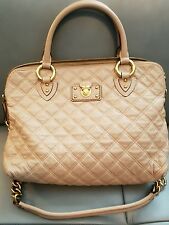 Marc Jacobs 'Quilted Standard' Blush Leather Satchel