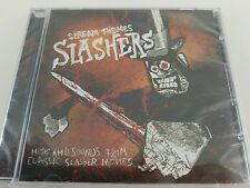 New Scream Theme Slashers Music and Sound from Classic Horror Movies Cd Hallowee