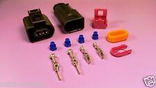 VW AUDI 2 Pin Plug 1J0973722 & 1J0973822 for magotan horn Waterproof Touareg