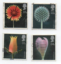 GB Stamps SG1347-1350, 1987 Flower Photographs by Alfred Lammer