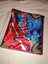 JUICY COUTURE - CALIFORNIA DREAMING 100% SILK SCARF - 35 in square (2 of)
