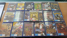 BULK LOT OF 21 PS2 GAMES! GOOD COND. GRAND THEFT AUTO TRANSFORMERS SMACKDOWN