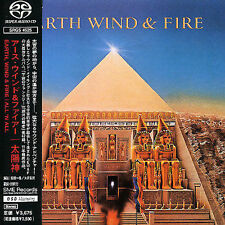 Earth Wind & Fire ALL 'N ALL super rare Japan import SACD MINT CONDITION no obi