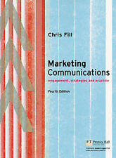 Marketing Communications Chris Fill Engagement, Strategies & Practice Textbook