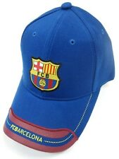 FC Barcelona Spain Club Team Blue Hat Cap EMBROIDERED Soccer Futbol Patch Logo