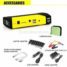 12V 50800mAh Portable Car Jump Starter Pack Booster Charger Battery&Power Bank