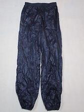 Adidas Regen Hose Wetter Weather Rain Pant Nylon Blau Blue Vintage 80s D 46 NEU
