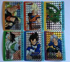 Dragon Ball Z PP Card PART 18 Prism Set 6/6