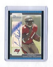 "Carnell ""Cadillac"" Williams 2005 Bowman Rookie Rc Auto"