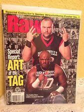 WWE RAW MAGAZINE SEPTEMBER 2003 THE DUDLEY BOYZ WRESTLING GREATEST DUO