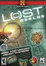 The History Channel Lost Worlds (PC CD Game) BRAND NEW, SEALED SHOP WORN