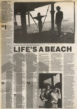 15/7/89Pgn13 Article & Picture 'life's A Beach' The Perfect Disaster Pull New St