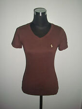 RL The skinny Polo ladies shirt brown small