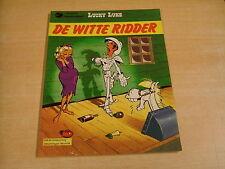 LUCKY LUKE - DE WITTE RIDDER / 1° DRUK UIT 1976