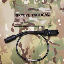 SKYEYE Tactical NACRE QUIETPRO Motorola Saber Series Radio Cable aor1 lbt