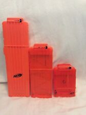 NERF Dart Ammo Cartridge Magazine Clip System Replacement Lot! Extended! B51