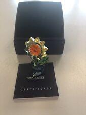 """Swarovski Crystal Sunflower Figurine 4"""""""