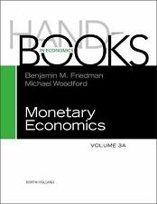Handbook of Monetary Economics 3A, Volume 3A-ExLibrary