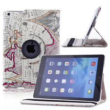New 360 Rotating PU Leather Smart Case Magnetic Cover Stand For Apple iPad 2 3 4
