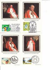 4 POST CARDS OF POPE JOHN PAUL II VISIT TO BRITAIN 1982