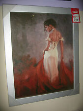 Stunning Picture Mark Spain 'Rhapsody' Beautiful Wood Frame 40x50cm