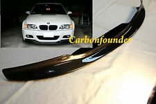 For 2001-2006 BMW E46 M3 add CSL Style Carbon Fiber Front Lip Spoiler