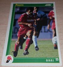 CARD SCORE 1993 BARI PROTTI CALCIO FOOTBALL SOCCER ALBUM