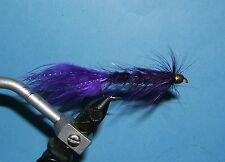 Woolly Bugger - cone head - 15 streamers- 4 colors