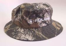 POLARIS CAMO CAMOUFLAGE Cotton Bucket Hat HUNTING Roll Up Packable Snowmobile