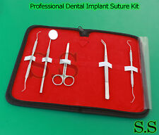 Professional Dental Implant SUTURE REMOVAL KIT Student Nurse Medical Instruments