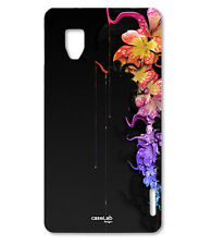 CUSTODIA COVER CASE FIORI SPLATTER COLORI PER LG OPTIMUS G E975