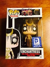 Funko Pop Enchantress Suicide Squad Legion Of Collectors Exclusive (Damaged Box)
