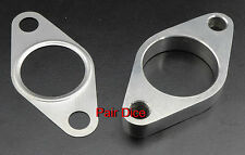 38mm Wastegate Mild Steel 2 Bolt FLANGE Dump Pipe Discharge + SS Gasket