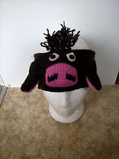 ANIMAL HEADBANDS HAND KNITTED , ONE SIZE, HANDMADE IN NEPAL