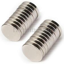 10 Piezas Imán Imanes De Neodimio NdFeB Disco 10 x 2 mm Magnet Envío Fuerza N50